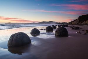Nieuw-Zeeland, Moeraki Boulders